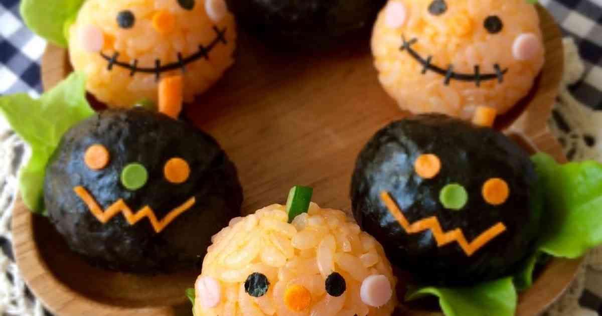 ハロウィンに♪ひと口おにぎりキャラ弁 by Haママ 【クックパッド】 簡単おいしいみんなのレシピが276万品
