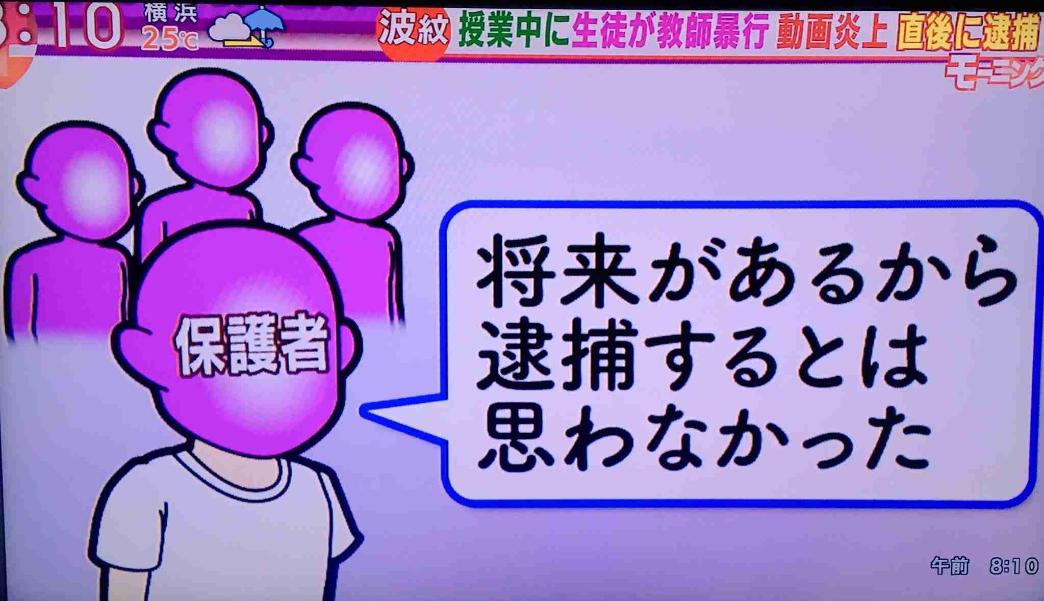 講師蹴った疑いの高1釈放 福岡地検「勾留は必要ない」
