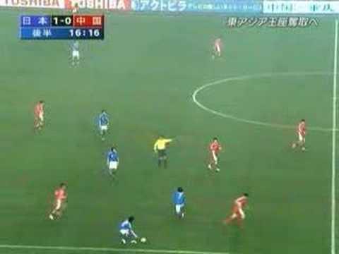 【サッカー】日本vs中国080220 中国のラフプレー集【高画質】 - YouTube