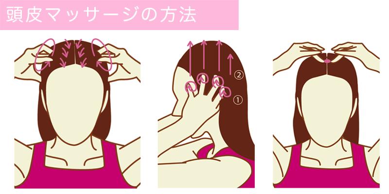 頭皮マッサージ
