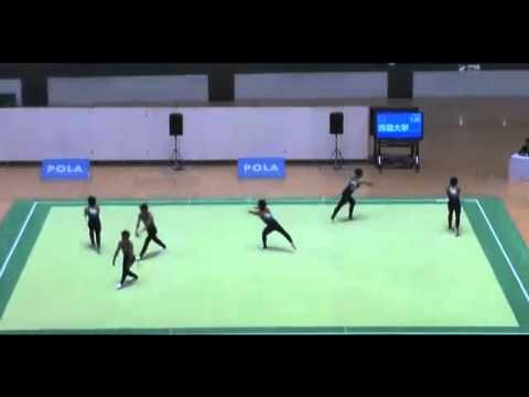大学生が演じた新体操が世界で大絶賛 - YouTube