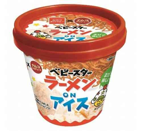 斬新「ベビースターラーメン×アイス」製品化