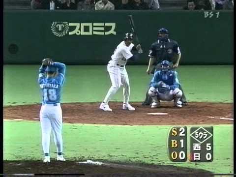 1999 松坂大輔  5 衝撃の155kmデビュー 全投球  プロ初登板 - YouTube