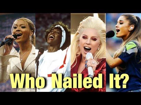 Female Singers : Star Spangled Banner Battle - YouTube