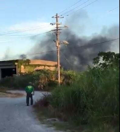 沖縄で米軍輸送ヘリが炎上「東村高江で墜落」と通報