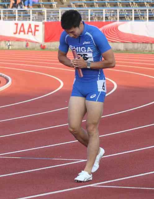 桐生、国体400メートルリレーで滋賀アンカーもあと1人抜けず…準決勝で敗退 : スポーツ報知