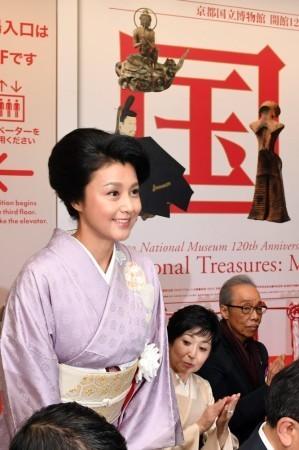 紀香 着物姿で特別展覧会「国宝」鑑賞 3日から京都国立博物館 (スポニチアネックス) - Yahoo!ニュース