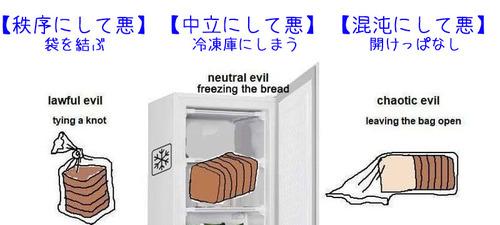 食パンの保存のしかたでわかる性格診断…あなたの属性は何?