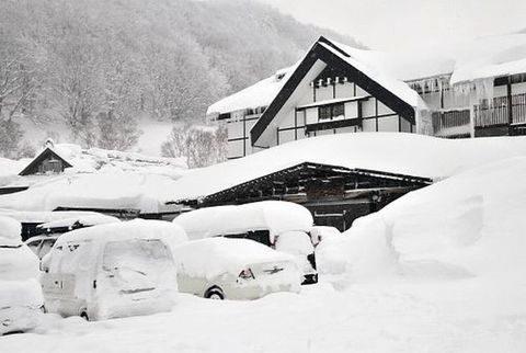 豪雪地帯に住んでいる人〜