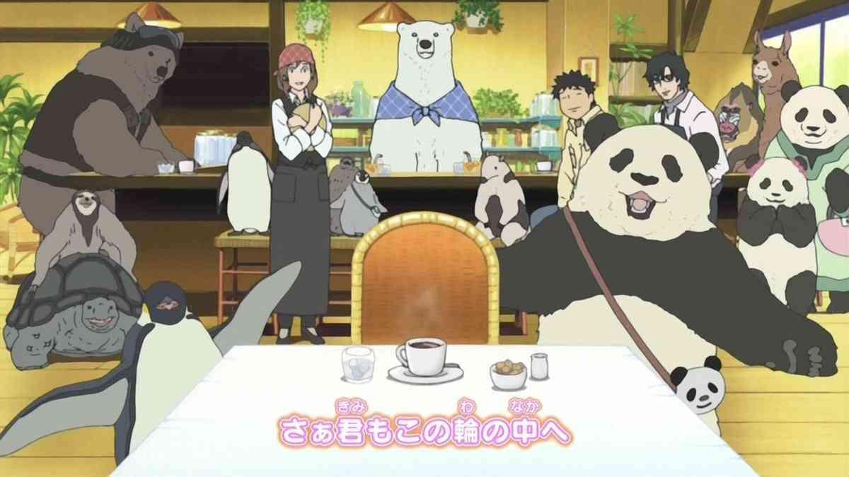 しろくまカフェ好きな人!