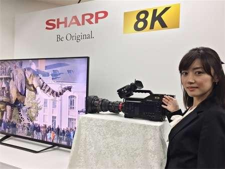 シャープの8K業務用カメラ|BIGLOBEニュース
