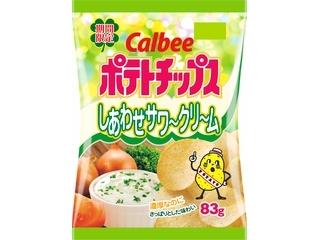 カルビー ポテトチップス しあわせサワ~クリ~ム【もぐナビ】