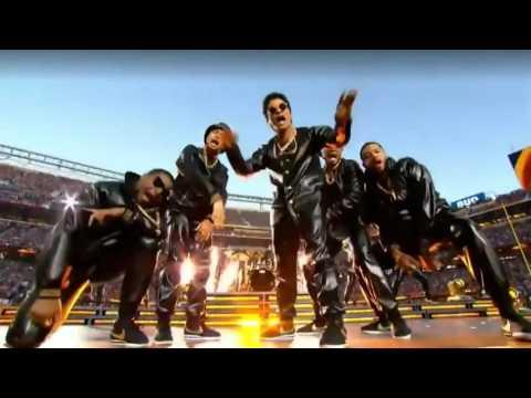 【傑作】ライブなのに安定感やばい!! スーパーボウル ハーフタイムショー Bruno Mars & Beyonce抜粋バージョン  2016 - YouTube