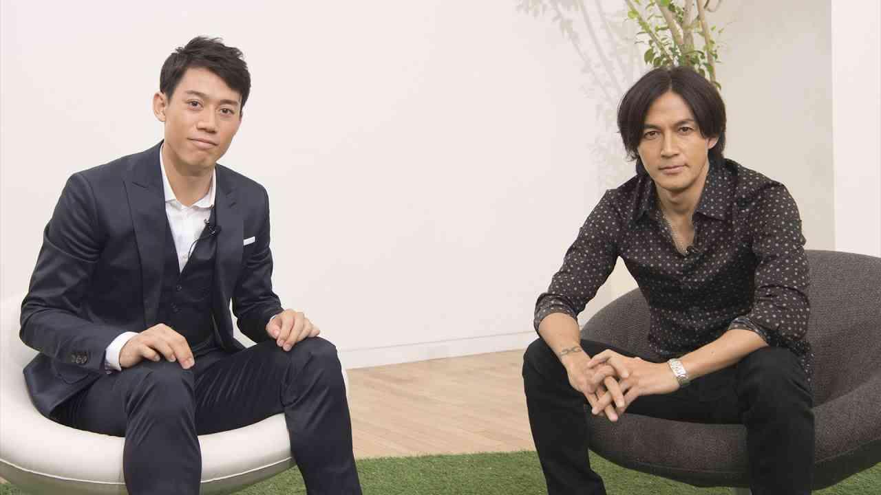 錦織圭 × 稲葉浩志 / テニス対談 ディレクターズカット版 - YouTube