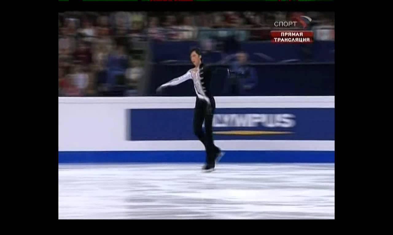 ジョニー・ウィアー SP 2008年世界フィギュアスケート選手権 - YouTube