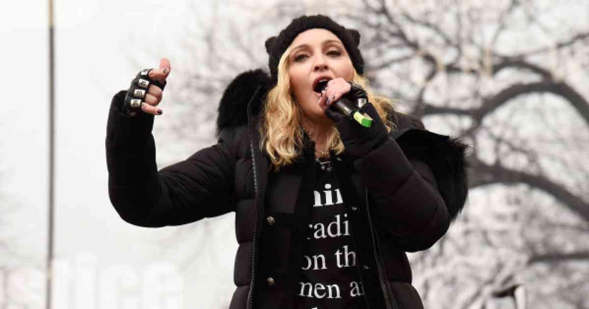 マドンナ、反トランプデモで訴える「愛の革命にようこそ。絶望してる場合じゃない」(スピーチ全文)
