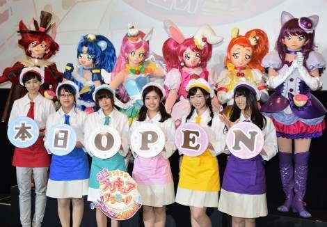劇場版『プリキュア』が封切り 美山加恋らパティシエ姿で喜び | ORICON NEWS