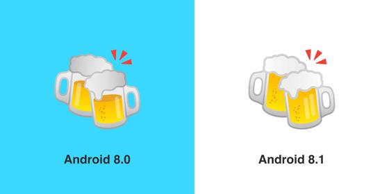 Googleがチーズバーガーの絵文字を修正、ほかにビールやチーズも