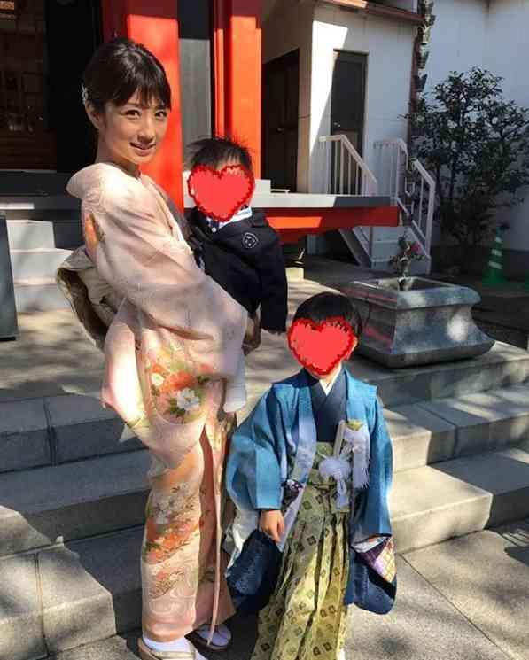 """小倉優子「太陽のような温かい母親になりたい」 長男の""""七五三""""で決意新たに"""