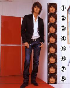 8頭身以上の有名人の画像を貼るトピ