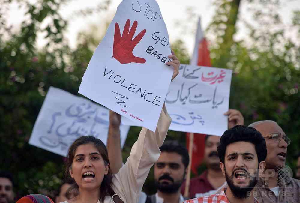 「名誉殺人」は終身刑に、パキスタン下院が法案可決  写真2枚 国際ニュース:AFPBB News