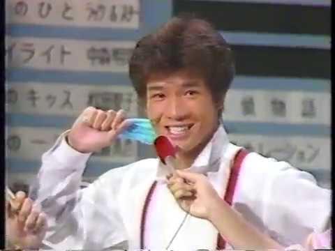 田原俊彦 『シャワーな気分』 トップテン・ベストテン他 1983 - YouTube