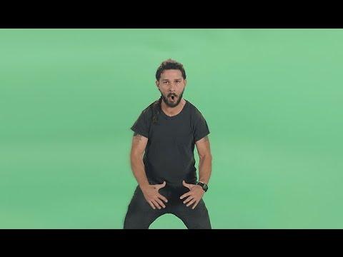 「JUST DO IT !!」熱く叫ぶシャイア・ラブーフ - YouTube