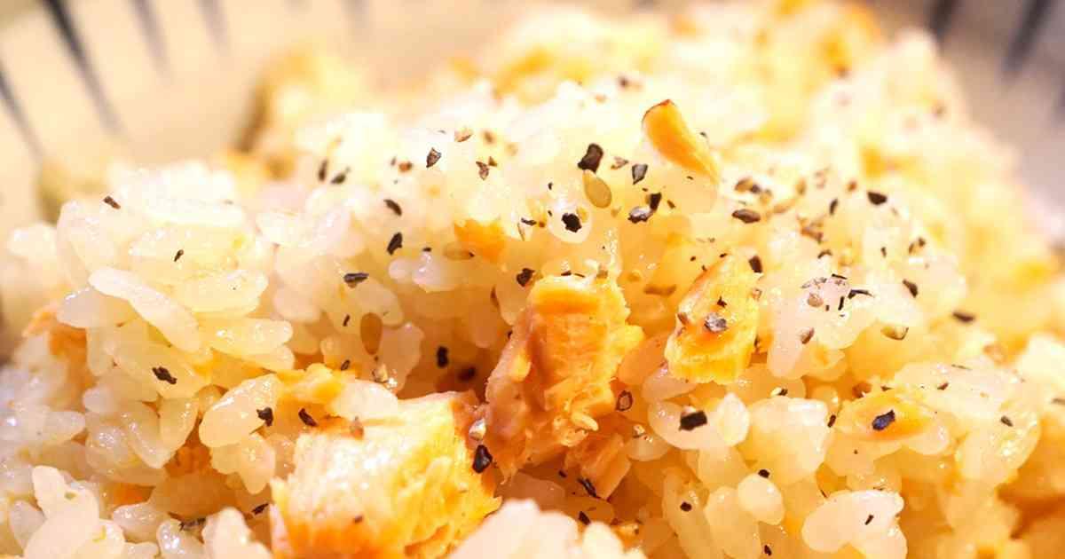 激旨!鮭のニンニクバター醤油炊き込みご飯 by anrilela 【クックパッド】 簡単おいしいみんなのレシピが278万品