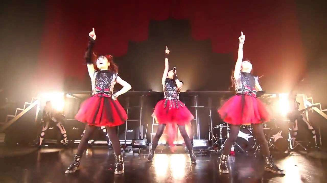 BABYMETAL - Over The Future (Rising Force Ver.) 2012 Live - YouTube