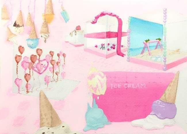 食べずに撮るだけ!インスタ映え特化した夢の国「東京アイスクリームランド」が限定オープン