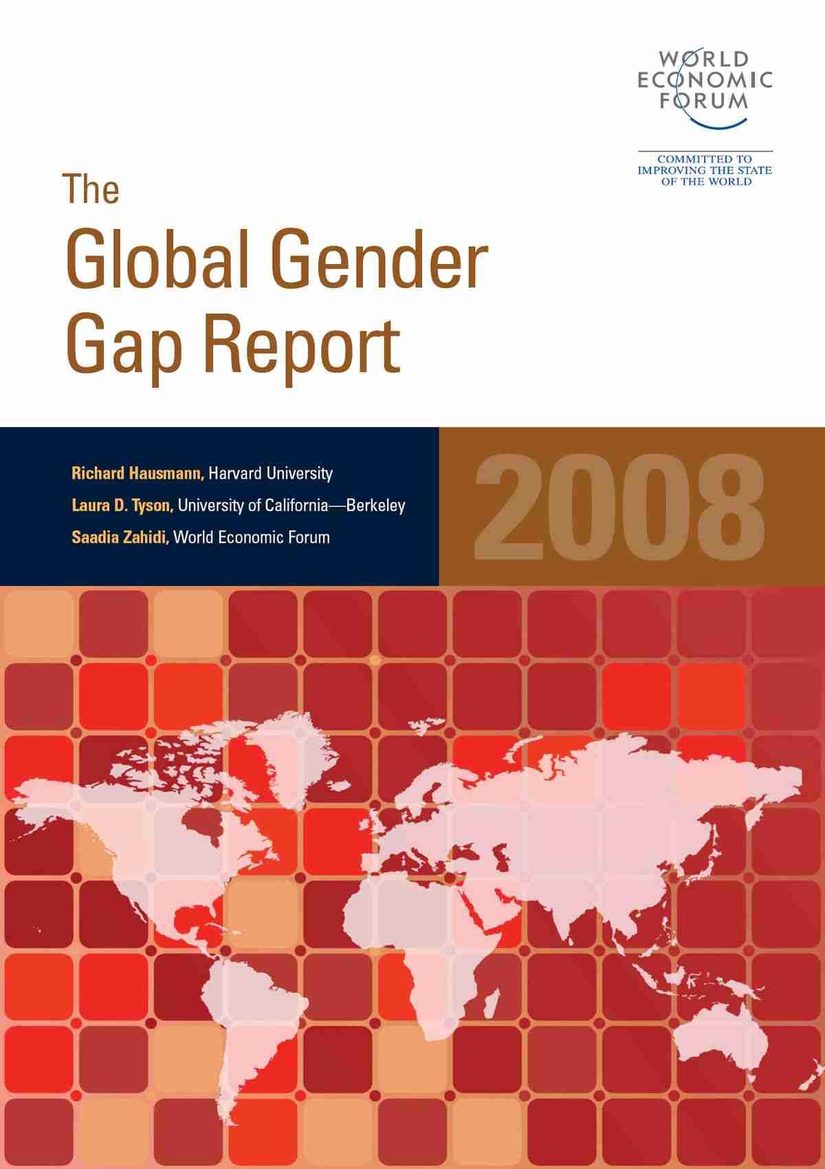 世界男女格差指数 - Wikipedia