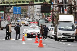 交通事故現場に遭遇したことありますか?