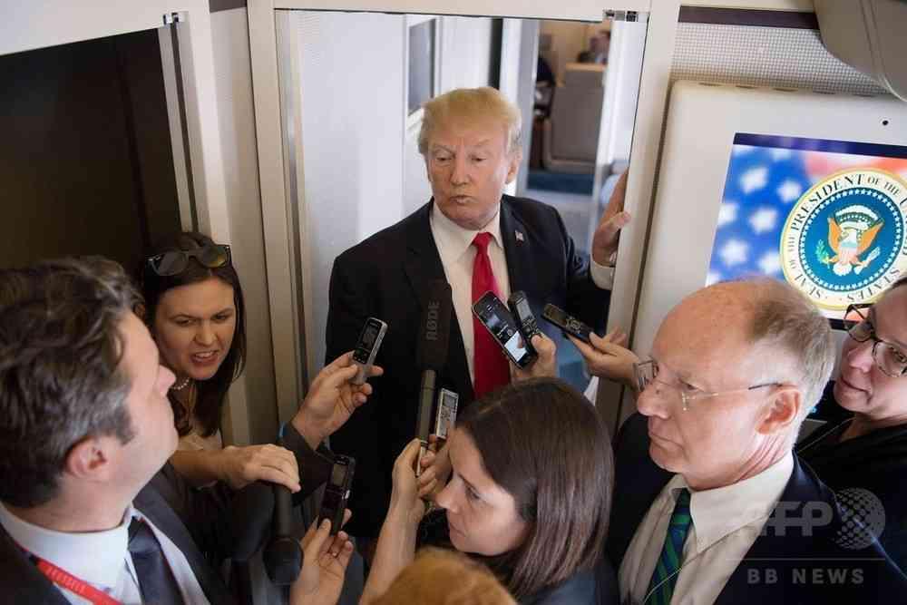 金正恩氏のことを「チビでデブ」とは言わない、トランプ大統領 写真2枚 国際ニュース:AFPBB News