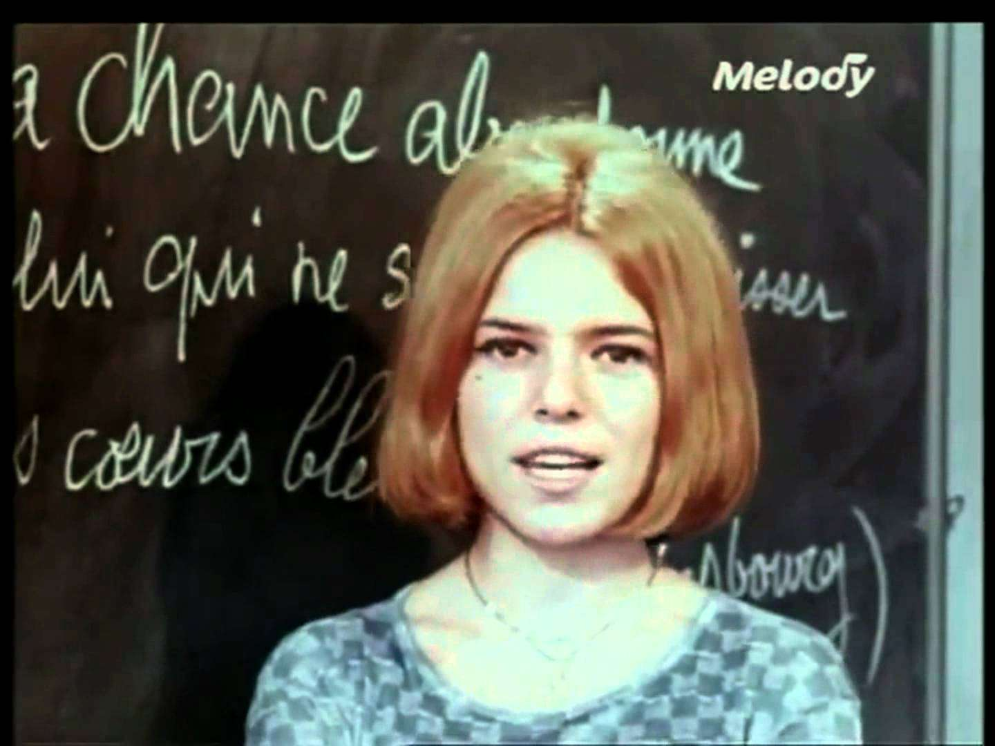 France Gall - Laisse tomber les filles 1964 HD (Tele Melody) - YouTube