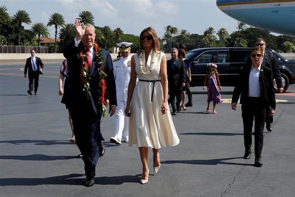 トランプ氏がハワイ訪問 司令官が北朝鮮について説明 今回の歴訪「非常に重要だ」 - 産経ニュース
