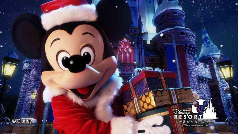 【画像】ディズニーリゾートのクリスマスを貼るトピ