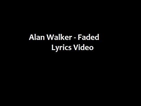 Alan Walker (feat. Iselin Solheim) - Faded (Lyrics Video) - YouTube