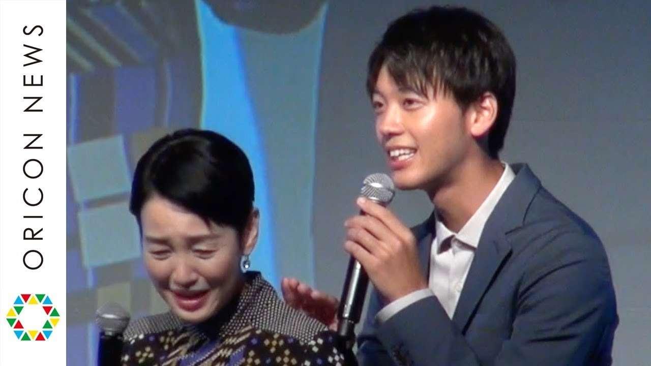 竹内涼真、理想のプロポーズに「気持ち悪い」 樋口可南子がダメ出し 『ソフトバンク モバイル』新CM発表会 - YouTube
