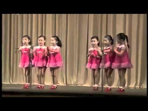 北朝鮮の女の子達が歌ってる North Korean girls sing - YouTube
