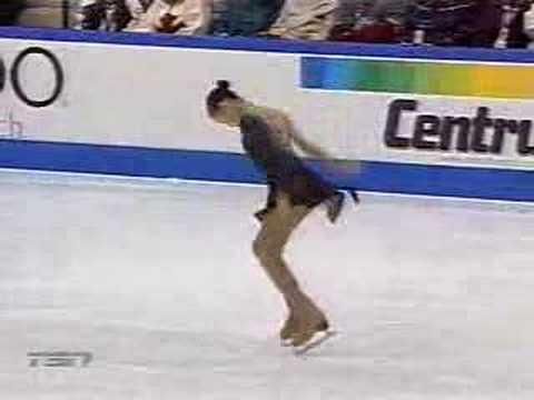 Yukina Ota 2003 Skate Canada S.P.(Canadian TV version) - YouTube