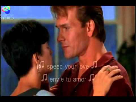 Ghost La sombra del Amor .. Unchained Melody ... (español subtitulo) - YouTube