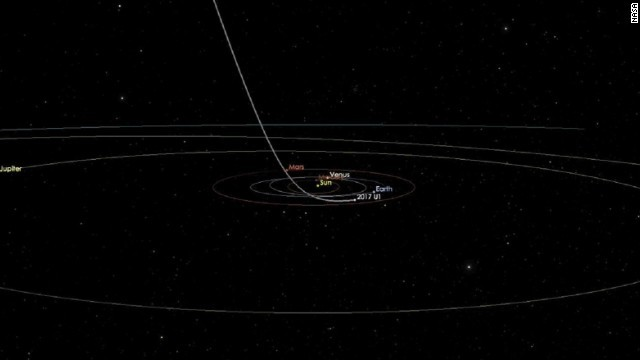 CNN.co.jp : 謎の天体が太陽系を通過中、外から飛来なら観測史上初