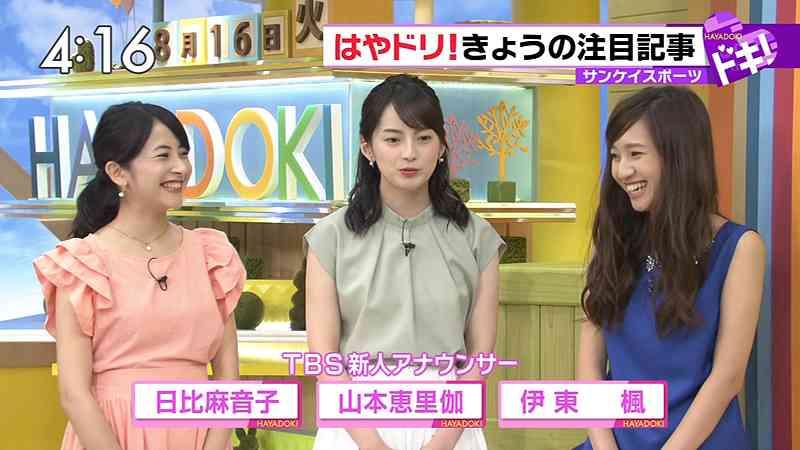 TBS「はやドキ!」で伊東楓アナがSMAPに関する失言 抗議の電話殺到