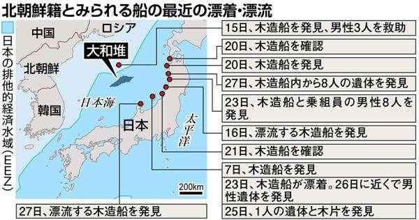 北の老朽木造船、無謀な遠征 大和堆周辺で違法操業 鋼船も投入 - 産経ニュース