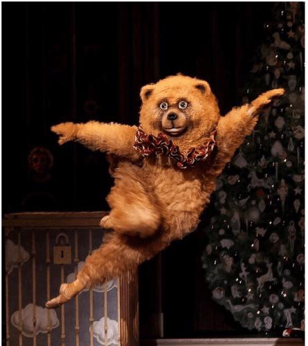 キレッキレなクマがボストンバレエ団で発見されてキモスゴイと話題に