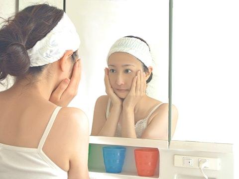 風呂上がりに顔に何使ってますか?