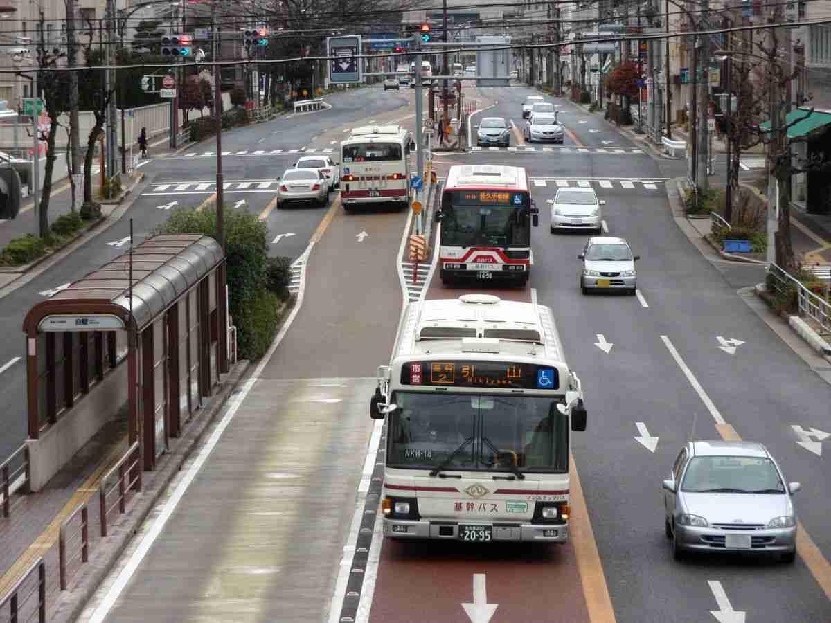 【名古屋 市バス】 基幹バスレーンは危ない! - NAVER まとめ