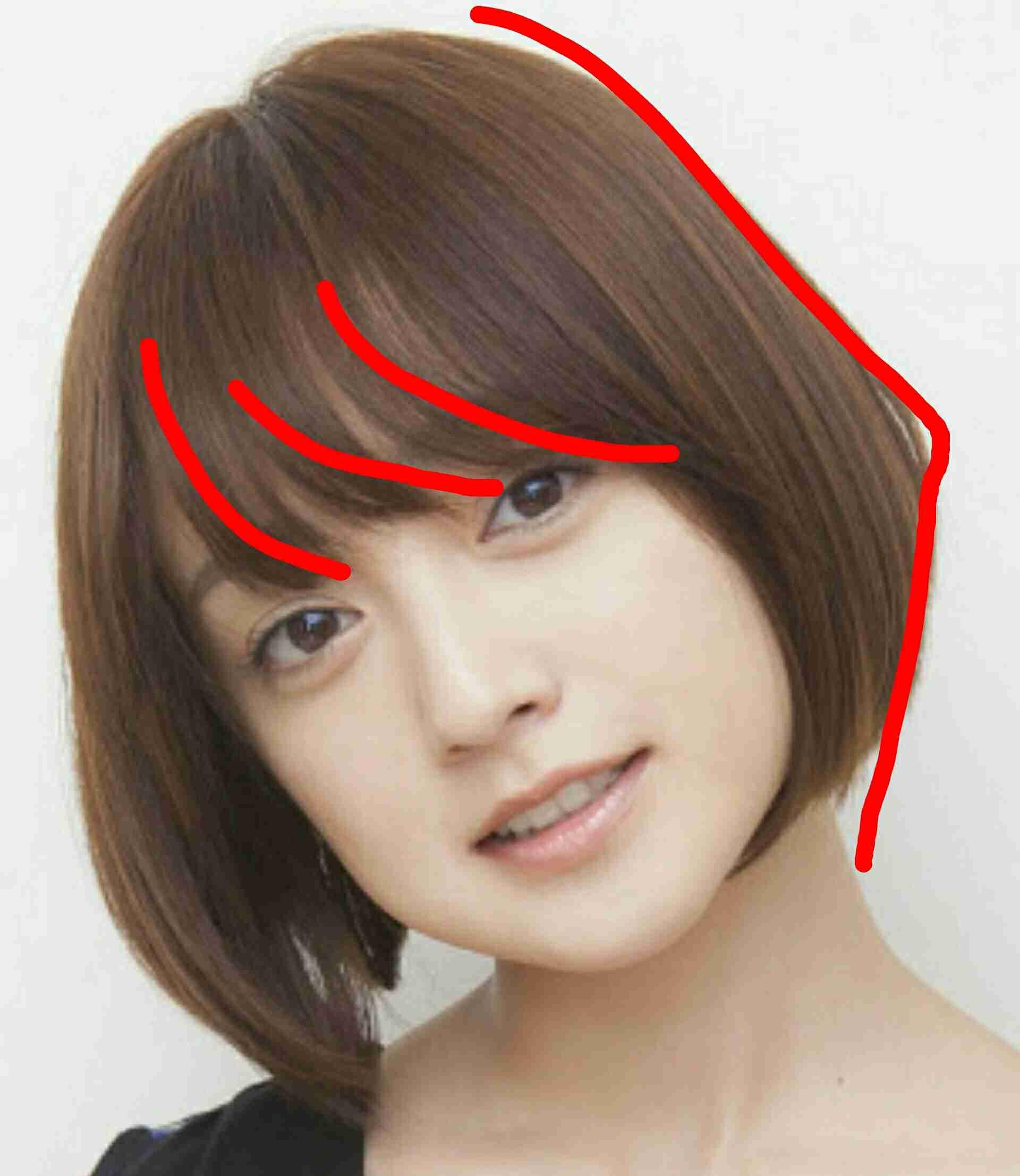 ベース 顔 前髪 小顔効果が狙える前髪はどれ?丸顔・面長・ベース型のお悩み別《前髪ヘ...