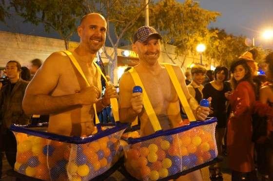 「江頭2:50」仮装 全裸の男逮捕 ハロウィーン、路上で八幡西署