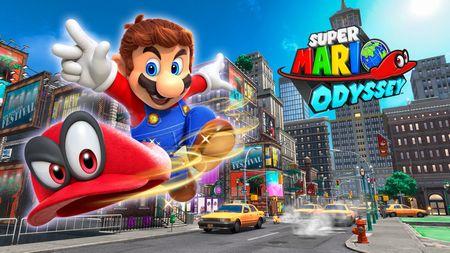 「スーパーマリオ オデッセイ」発売から3日間で200万本を売り上げる